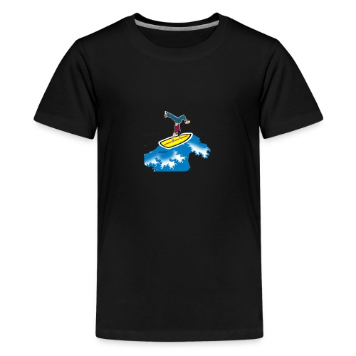 Shirts - Premium-T-shirt tonåring