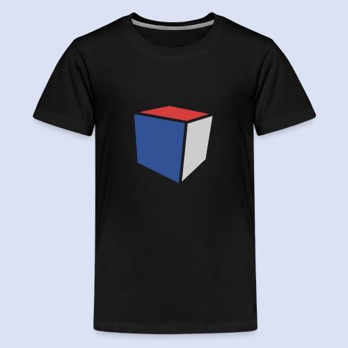 Cube Minimaliste - T-shirt Premium Ado