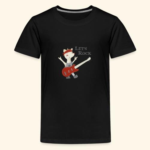 rock lupet - Teenage Premium T-Shirt
