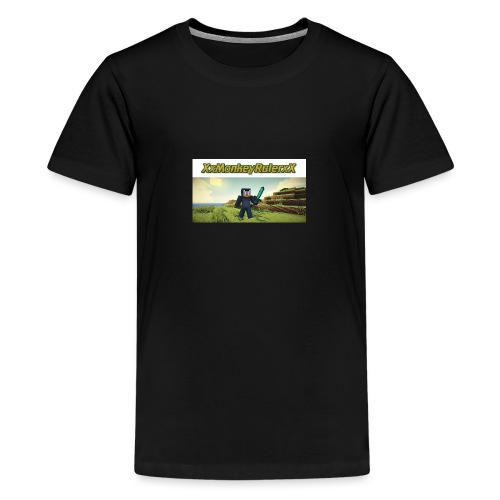 XxMonkeyRulerxX New Design - Teenage Premium T-Shirt