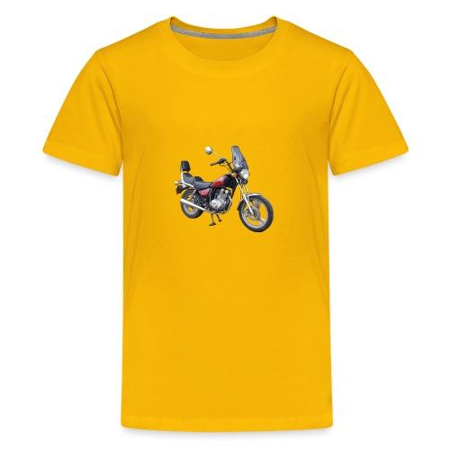 snm daelim vc 125 f advace vorne rechts ohne - Teenager Premium T-Shirt