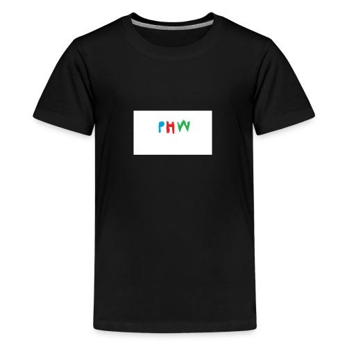 PHW CHRISTMAS - Teenage Premium T-Shirt