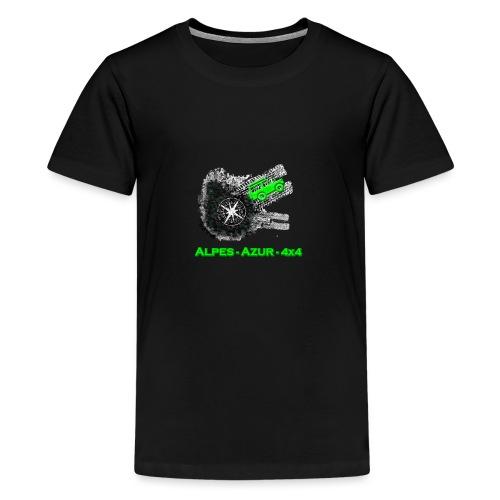 logo ALPES-AZUR-4X4 - T-shirt Premium Ado