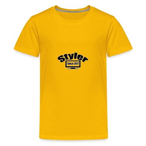 Styler Designer Kleding - Teenager Premium T-shirt