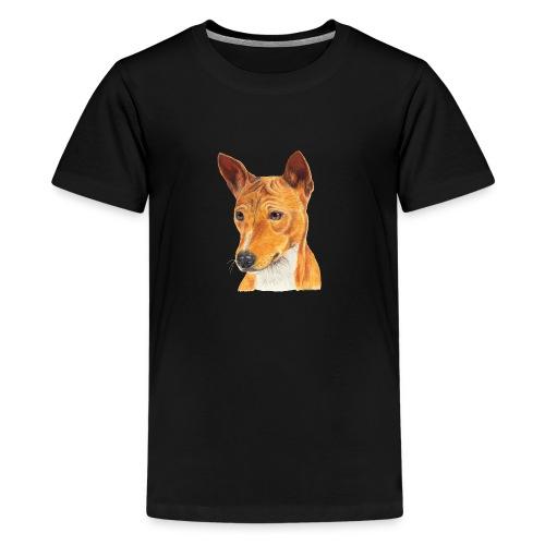 Basenji - Teenager premium T-shirt
