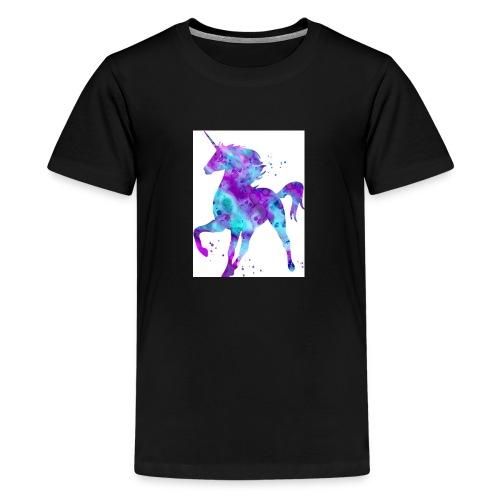Kids shirt unicorn cooper - Teenage Premium T-Shirt