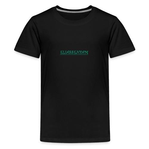 eliassenfam - Premium T-skjorte for tenåringer