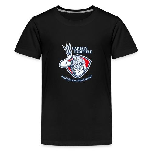 Captain Humfield Logo - Teenager Premium T-Shirt