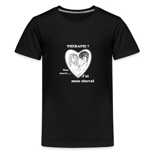 cheval thérapie FS - T-shirt Premium Ado
