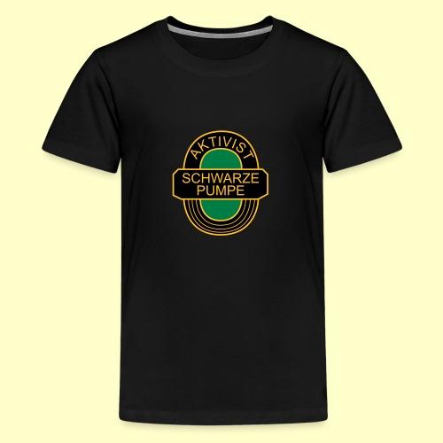 BSG Aktivist Schwarze Pumpe - Teenager Premium T-Shirt