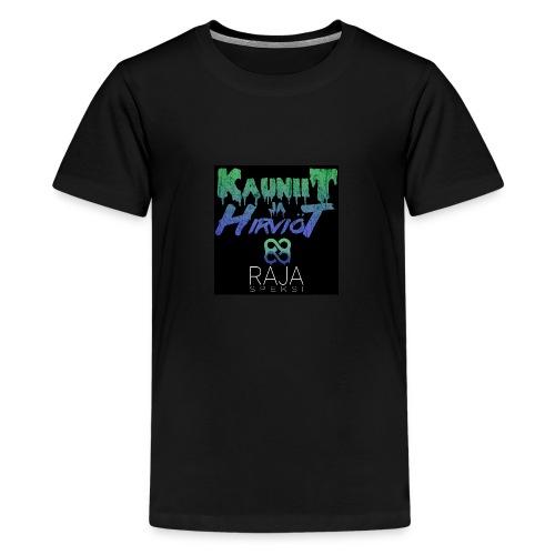 RajaSpeksi: Kauniit ja hirviöt - Teinien premium t-paita