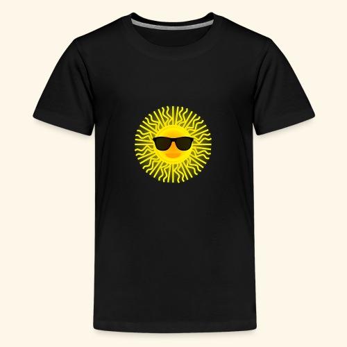 Sol de Canarias - Camiseta premium adolescente