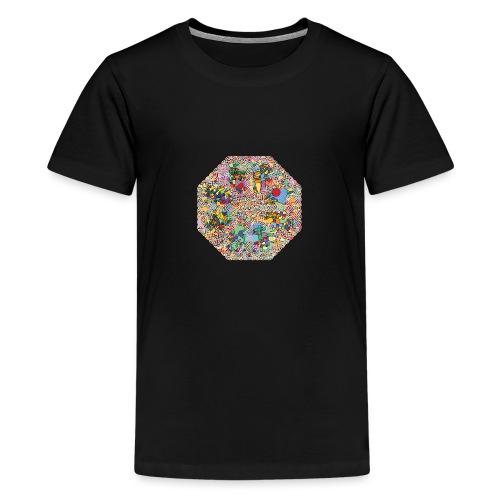 celtic knot - Teenage Premium T-Shirt