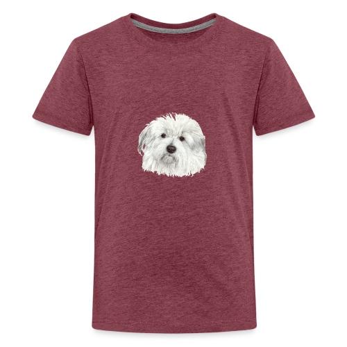coton-de-tulear - Teenager premium T-shirt