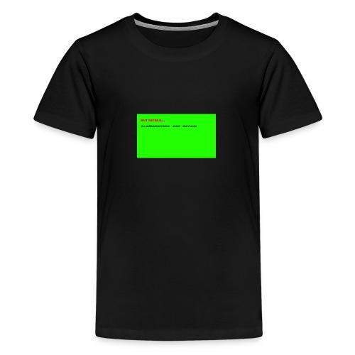 LLAMANATORS = SAVAGE - Teenage Premium T-Shirt