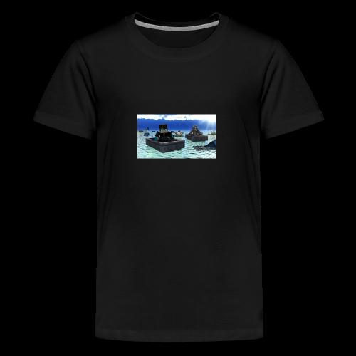 mit freundin auf der see - Teenager Premium T-Shirt