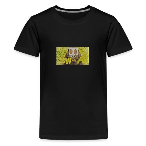swag - Premium T-skjorte for tenåringer