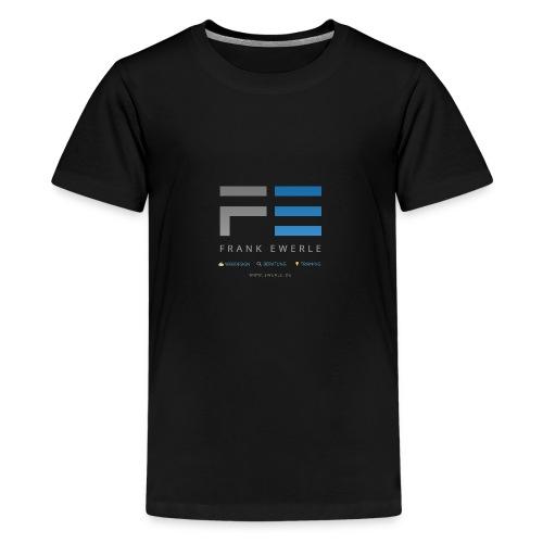 Logo 2017 trans - Teenager Premium T-Shirt