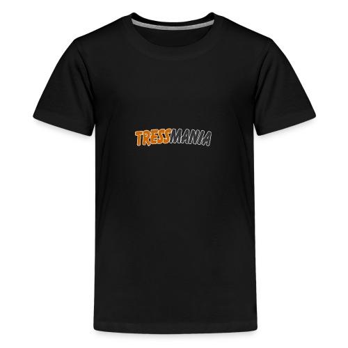Tressmania Logo 01 - Teenage Premium T-Shirt