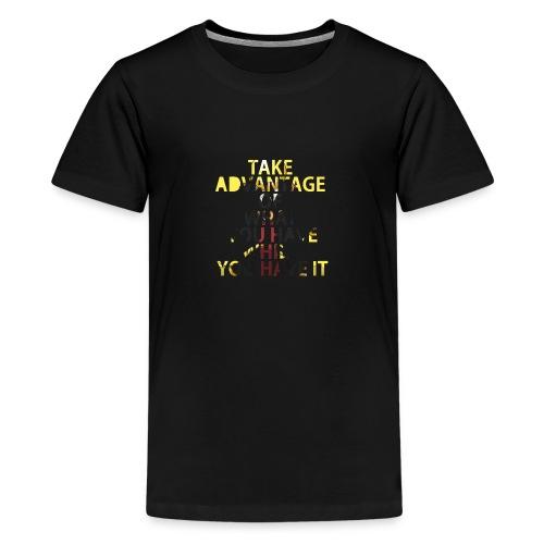 Koro Sensei Citation - T-shirt Premium Ado