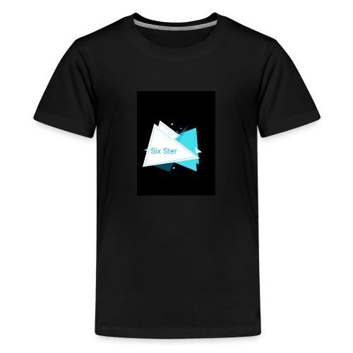 SixSter trujkątny wzór - Koszulka młodzieżowa Premium