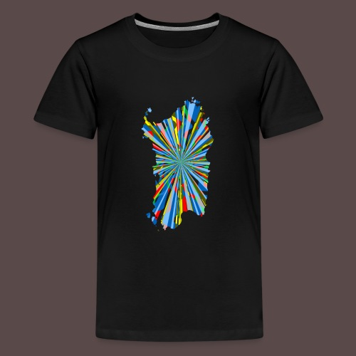 Sardegna Esplosione di Colori - Maglietta Premium per ragazzi
