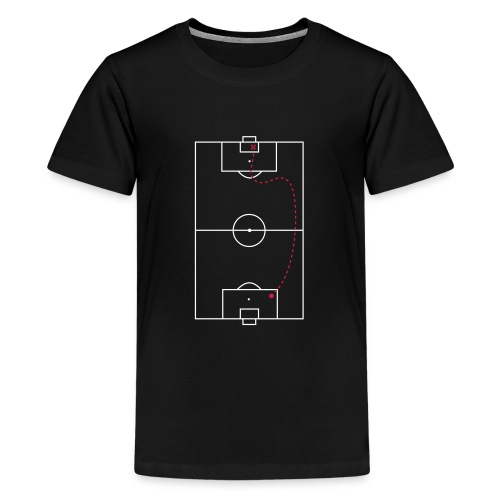 Schatkaart - Teenager Premium T-shirt