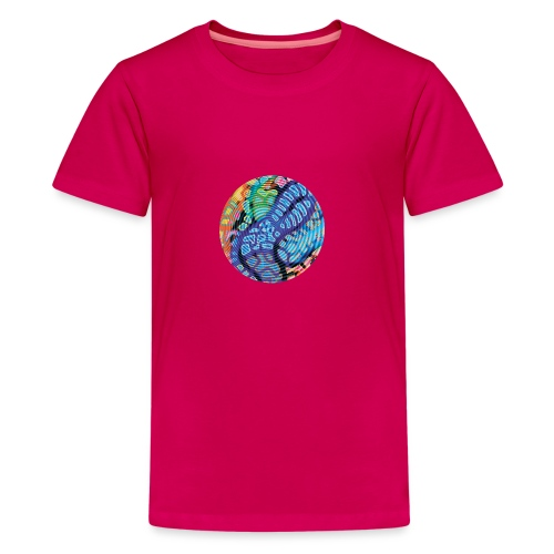 concentric - Teenage Premium T-Shirt
