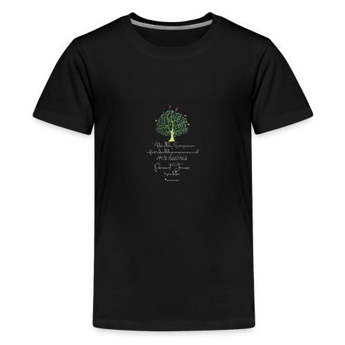 Adam Illsley Brand White - Teenage Premium T-Shirt