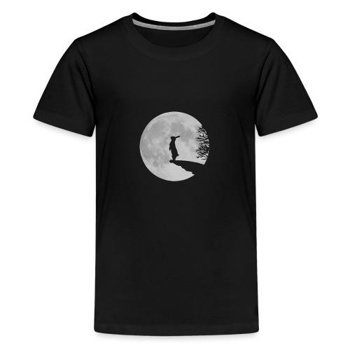 Wolfinchen hase kaninchen häschenosterhase bunny - Teenager Premium T-Shirt