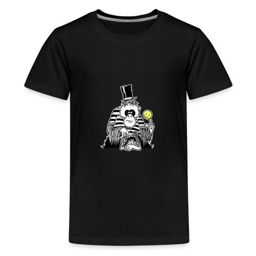 Depressiver Affe - Teenager Premium T-Shirt