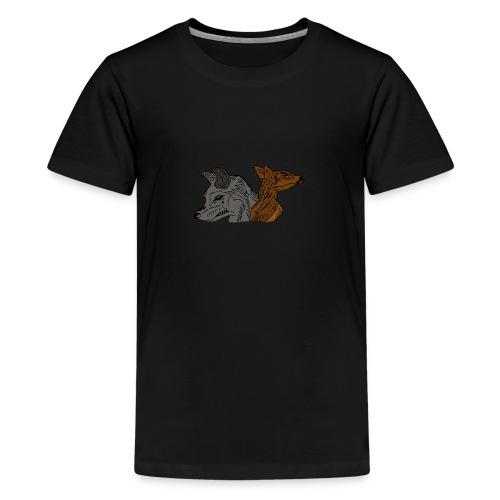 Ein unschlagbares Team - Teenager Premium T-Shirt