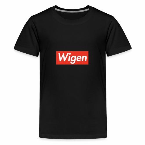 FD9D7801 A8D2 4323 B521 78925ACE75B1 - Premium-T-shirt tonåring