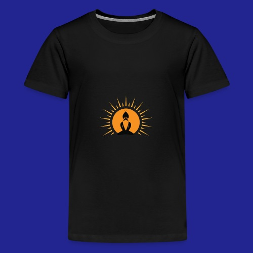 Guramylyfe logo no text black - Teenage Premium T-Shirt