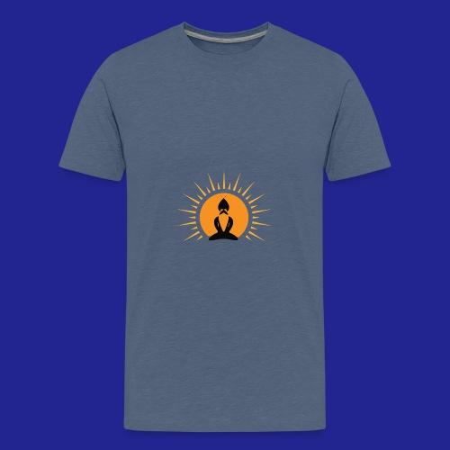 Guramylife logo black - Teenage Premium T-Shirt