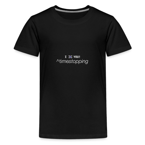 I photo you - Camiseta premium adolescente
