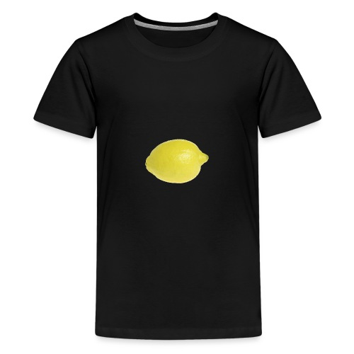 Zitrone - Teenager Premium T-Shirt