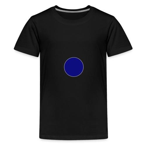 Blauer Kreis - Teenager Premium T-Shirt