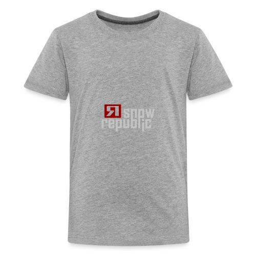 SNOWREPUBLIC 2020 - Teenager Premium T-shirt
