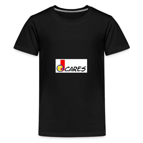 Joe Cares Logo light - Teenager Premium T-Shirt
