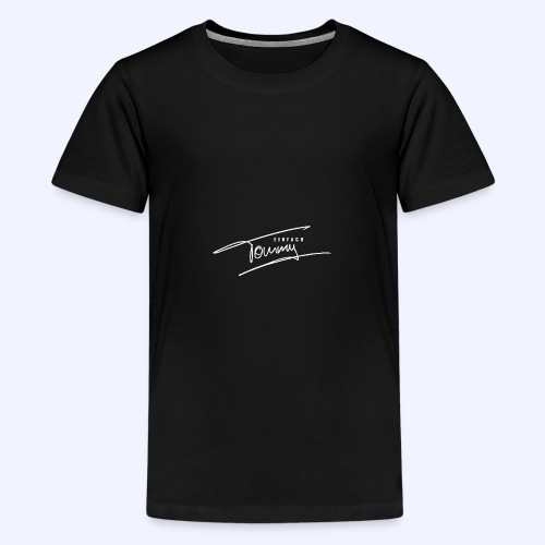 Einfach Tommy / White Font - Teenager Premium T-Shirt