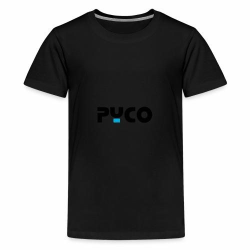 PYCO NOIR bleu 4000 - T-shirt Premium Ado