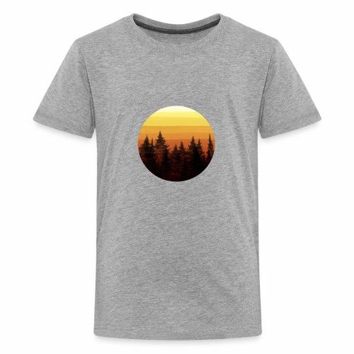 sunset - T-shirt Premium Ado