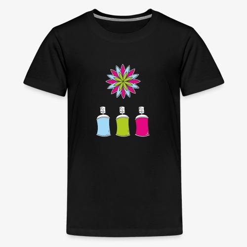 SOLRAC Spray of colors - Camiseta premium adolescente