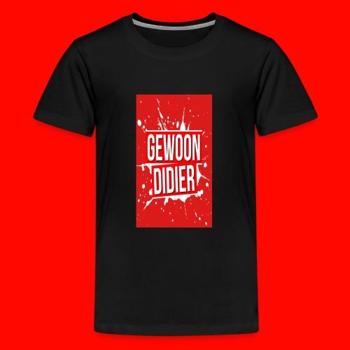 asfasfasafsdg png - Teenager Premium T-shirt