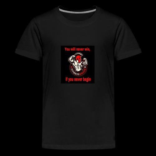 You will never win - Teenager Premium T-Shirt