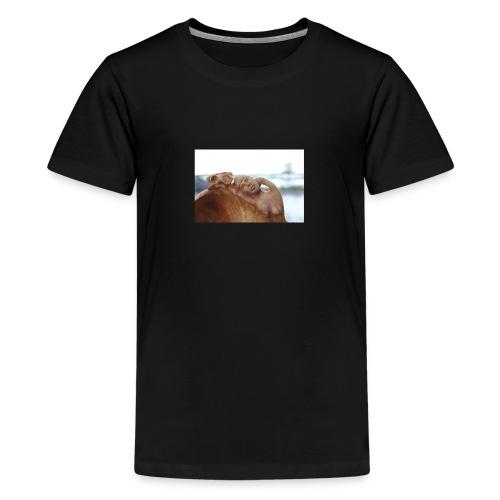 T o m 23 5 15 043 - Premium-T-shirt tonåring