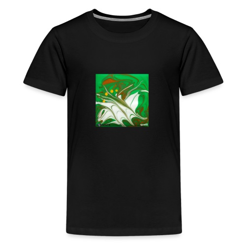 TIAN GREEN Mosaik CG002 - quaKI - Teenager Premium T-Shirt