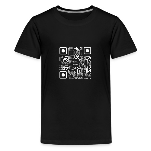 QR - Maidsafe.net White - Teenage Premium T-Shirt
