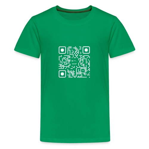 QR - Maidsafe.net White - Teenage Premium T-Shirt